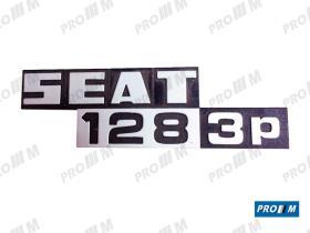 Seat Clásico S1826 - Rejilla frente Seat 128