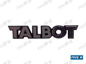 """Talbot T1016 - ANAGRAMA """"""""TALBOT"""""""" ANTIGUA"""