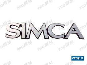 Simca SIM1009 - Anagrama Simca 1200 Gle