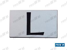 "Simca SIM1011 - Anagrama 1200 """"SIMCA"""" anntiguo en letras de plástico"