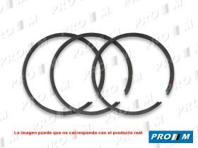 Pro//M Segmentos 9480KX060 - Juego de segmentos Seat Fiat 80mm +040