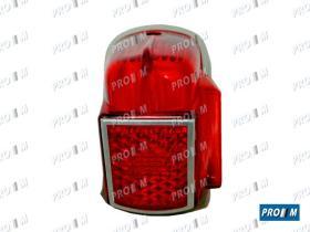 Prom Iluminación 1185 - Tulipa piloto trasero izquierdo Citroen 2CV 1ª Serie