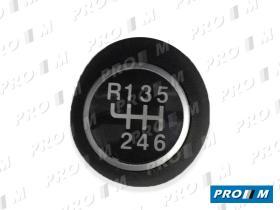 Accesorios FT12066 - Pomo cambio 6 velocidades R delante