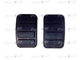 Caucho Metal 12120M - Goma pedal freno y embague Reanult 4-5-6-7 mod.