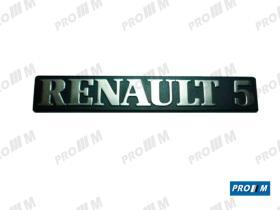 Renault Clásico R1829 - Anagrama Renault 5 GTS  7702144441