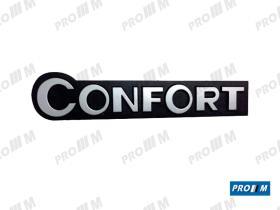 """Material Peugeot P1871 - Anagrama costado izquierdo Peugeot 205 """"GTX"""""""