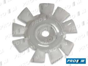 Caucho Metal ASP-2CV6 - Aspa de ventilador Citroen 2CV-Dyane