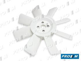Caucho Metal ASP-R12 - Aspa de ventilador Citroen 2CV-Dyane