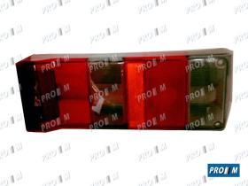 Prom Iluminación 365539 - Tulipa trasera derecha ahumado Lancia Y10 89->