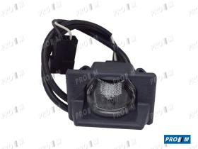Prom Iluminación M34 - Piloto matricula con cable Fiat