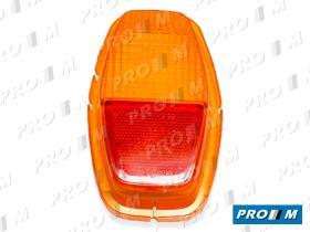 Iluminación (hasta '90) 1422600062 - Tulipa trasera izquierda ámbar Seat 128