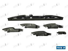 Accesorios 001410 - Escobilla limpiaparabrisas trasera 350mm multiclick