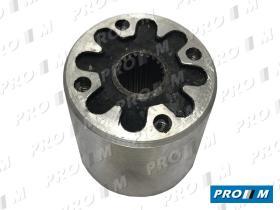 Caucho Metal 13097 - Flector de palier Fiat 500 126 estria fina