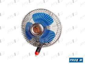 Accesorios 1500012 - Ventilador metal oscilante 12v toma mechero