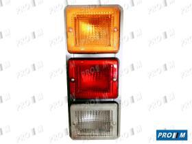 Iluminación (hasta '90) 0087100061 - Piloto rojo 1 polo 130x105