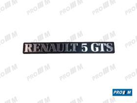 Renault Clásico R1723 - PARAGOLPES SUPER 5 DELANTERO SIN HUECOS
