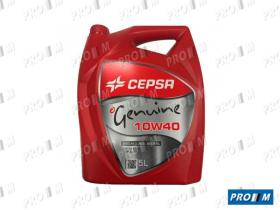 Cepsa 5L 10W40 - Aceite Cepsa Genuine 10W40 5 litros