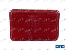 Prom Iluminación 1051 - Tulipa trasera derecha roja Seat 124 Sport 1800