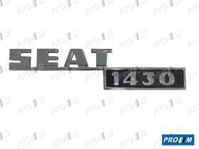 Seat Clásico AB036 - Radiador Seat 1430