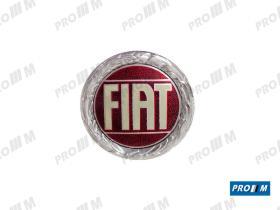 Fiat S1893 - Anagrama Fiat redondo 72mm
