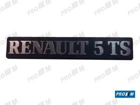 Renault Clásico 270839 - Anagrama trasero Renault 5 plastico