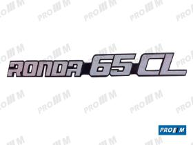 Seat Clásico S1903 - Anagrama trasero Ronda D