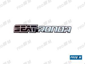 Seat Clásico S1904 - Anagrama trasero Ronda 65cl