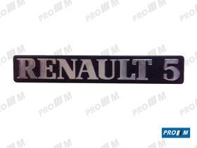 Renault Clásico 270836 - Anagrama trasero Renault 5 TL