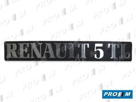 "Renault Clásico 270846 - Anagrama Super 5  ""1.2 LITROS"""