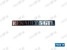 """Renault Clásico 270847 - Anagrama """"Renault 5 TL"""""""