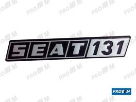 """Seat Clásico 410832 - Anagrama aleta Seat 131 """"""""1600 TC"""""""""""