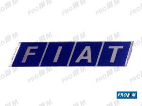 Fiat 770801 - Anagrama Fiat 210mm negro