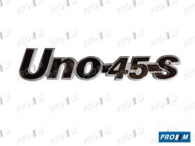 Fiat 760805 - Anagrama Fiat Uno 45 S