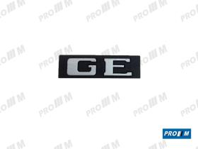 "Material Peugeot ANAGE - Anagrama Peugeot 406 ""LEON"" rejilla"