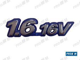 Fiat 0007790706 - Anagrama Fiat 16 16V