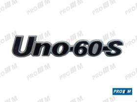 Fiat ANAF10 - Anagrama Fiat Uno 60 S