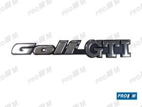 Volkswagen 1H6853687AD - PARAGOLPES TRAS GOLF 93 BITONO