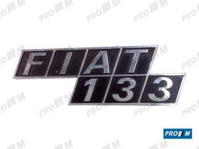 Fiat ANAF13 - Anagrama trasero FIAT 133