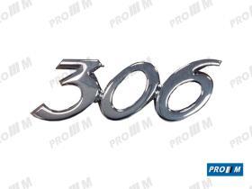 Material Peugeot ANAP1306 - Anagrama Peugeot