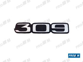 Material Peugeot 690801 - SOPORTE FARO P309 FARO DERECHO
