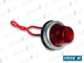Iluminación (hasta '90) 0121100028 - Piloto redondo blanco universal 35mm Tipo Peugeot