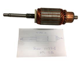 Femsa 17127-2 - Inducido arranque MTS12 - 10 - 37 - 50