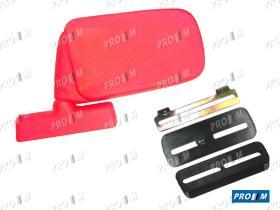 Accesorios 05915100R - Espejo universal rojo derecha-izquierda