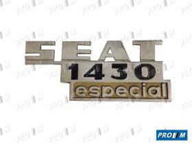 Seat Clásico AB262 - Tapacubos de rueda pequeño FU Seat 1430-132 FL90