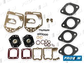 Juegos reparación carburador A5R - Juego reparación de carburador Dellorto 40 DHLA N-L