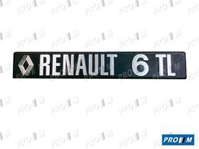Renault Clásico ANAR6TL22CM - Abridor interior Renautl 6 delantero izquierdo