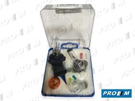 Pro//M Lámparas 9900L - Juego de lámparas  H4 - HB3 9005 WEDLE ámbar 21 - 21/5 Y 5W
