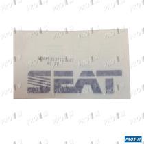 "Seat Clásico 6K5853713B - Anagrama ""TD"" rejilla delantera plata"