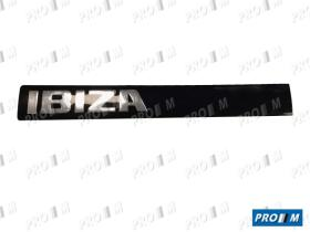 Seat Clásico 6K6853687J - Anagrama Ibiza II portón banda negra lado izquierdo