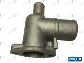 Caucho Metal TT210 - Tapa termostato 4 tornillos